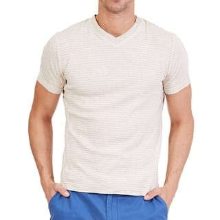 Nautica NEW Beige Mens Size Medium M V-Neck Short Sleeve Tee T-Shirt|https://ak1.ostkcdn.com/images/products/is/images/direct/d884a05b67785cfe422653c768940375f0be0074/Nautica-NEW-Beige-Mens-Size-Medium-M-V-Neck-Short-Sleeve-Tee-T-Shirt.jpg?impolicy=medium