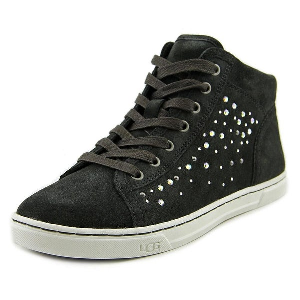 Ugg Australia Tylah Crystals Women Suede Black Fashion Sneakers