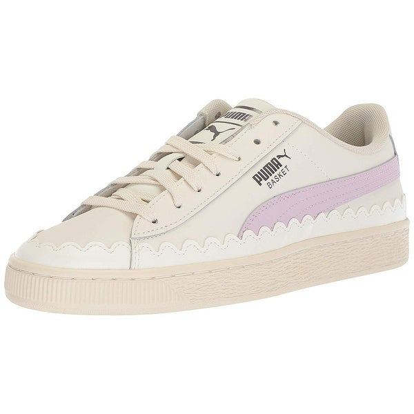 65b34e7a0038 Shop Puma Womens Basket Low Top Lace Up Fashion Sneakers - Free ...