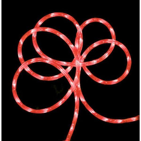 18' Strawberry Pink Indoor/Outdoor Christmas Rope Lights