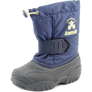 Kamik Tickle Toddler  Round Toe Synthetic Blue Snow Boot