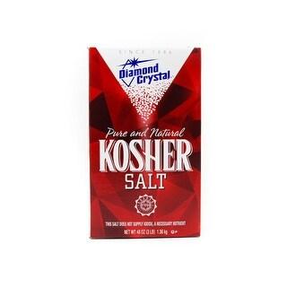 Diamond Crystal Kosher Salt, 3 Pound (Pack of 12)