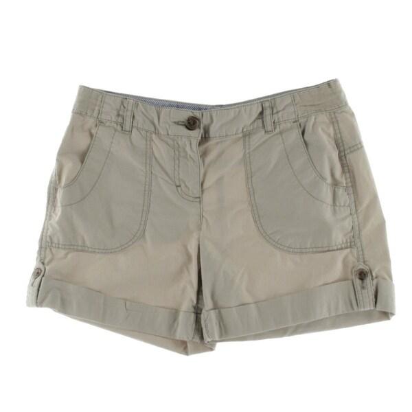 Tommy Hilfiger Womens Holly Casual Shorts Twill Bermuda