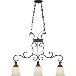 Forte Lighting 2539-03 3 Light Island / Billiard Lights