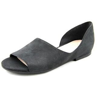 Naya Eleni Open-Toe Leather Flats
