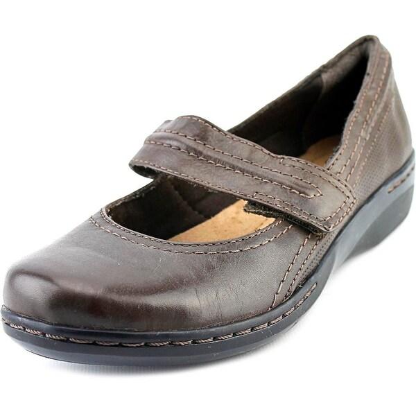 Clarks Narrative Evianna Cozy Round Toe Leather Mary Janes