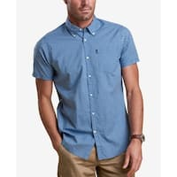 BARBOUR Mens Button Down Gingham Check Pocket Shirt