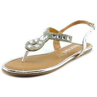 Kensie Girl KG32175 Open Toe Synthetic Thong Sandal