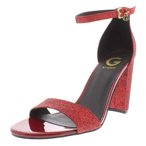 9100bbcd1 G by Guess Womens Shantel3 Open Toe Special Occasion Ankle Strap Sandals