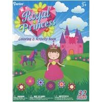 Royal Princess - Darice Coloring Book