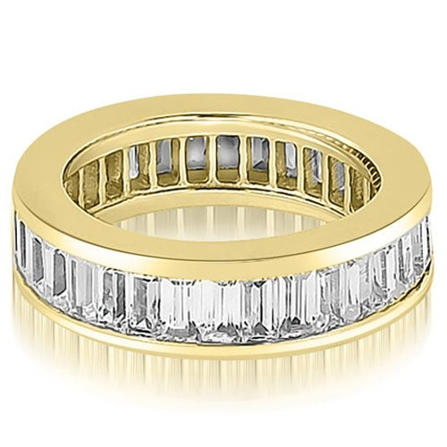 3.00 cttw. 14K Yellow Gold Baguette Diamond Eternity Ring
