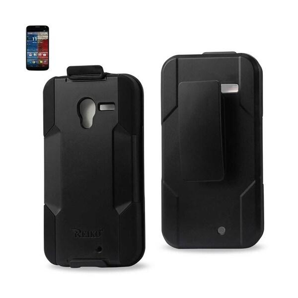 sale retailer 06df0 d9208 Shop Reiko Motorola Moto X Hybrid Heavy Duty Holster Combo Case In ...