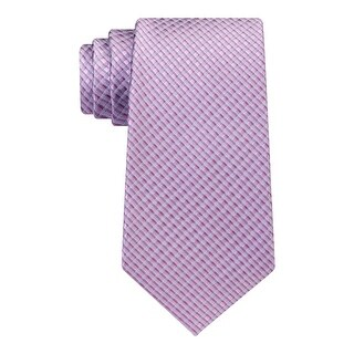 Kenneth Cole Reaction Mens Neck Tie Pattern Silk - o/s