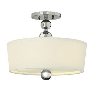 Hinkley Lighting 3441 3 Light Indoor Semi-Flush Ceiling Fixture from the Zelda Collection