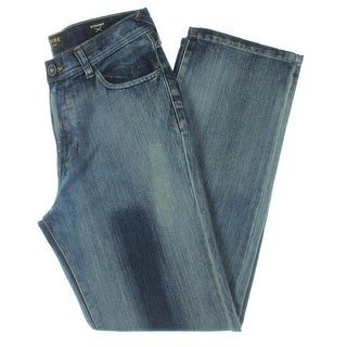 Link to Ring Of Fire Mens Jeans Denim Straight Fit - Kenter Canyon - 18 Similar Items in Pants