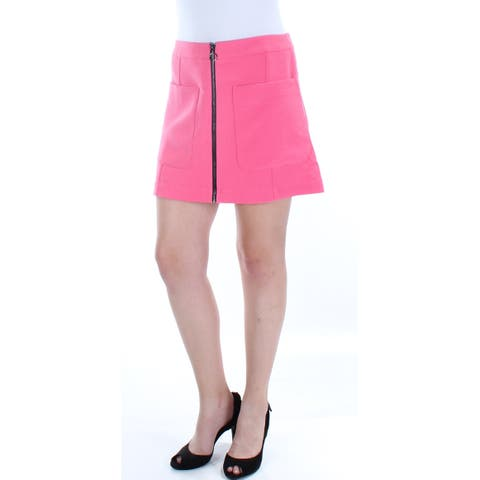 RACHEL ROY Womens Pink Mini A-Line Skirt Size: 6