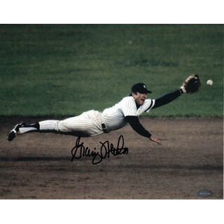 Graig Nettles Signed 8x10 Photo Authenticated Mounted Memories New York Yankees - Blue
