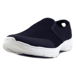Skechers Go Walk 4 - Contain Women D Round Toe Canvas Walking Shoe