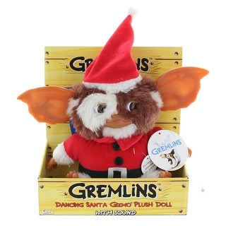 Gremlins Santa Gizmo Dancing & Singing Plush