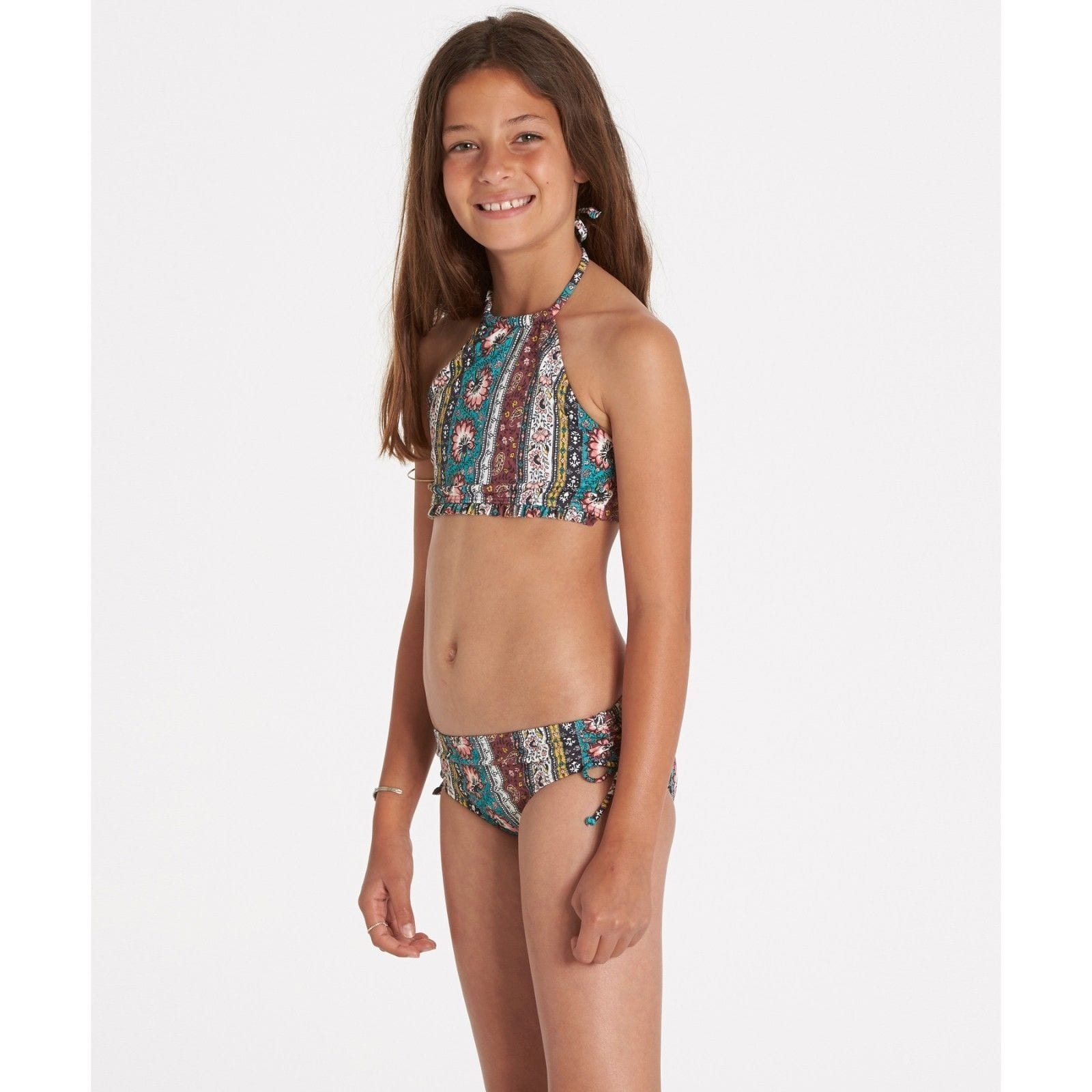 a70a0bac6cdc Shop Billabong Girls' Girls' Hippy Ditsy High Neck Swim Set SIZE 5 - Free  Shipping On Orders Over $45 - Overstock - 26282262