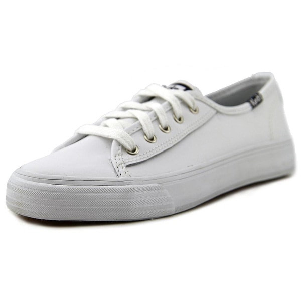 Keds Double Up Youth Round Toe Leather Sneakers