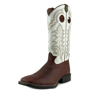 Tony Lama RR4007 3R H Toe Square Toe Leather Western Boot