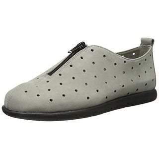 Aerosoles Womens Skip Away Leather Perforated Casual Shoes
