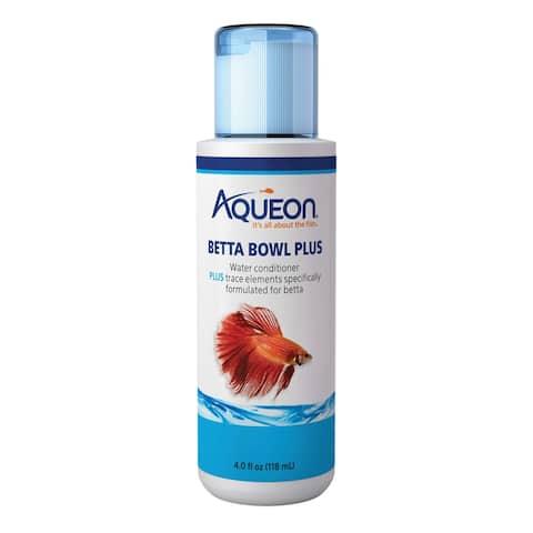 Aqueon Betta Bowl Plus Water Conditioner 4 ounces