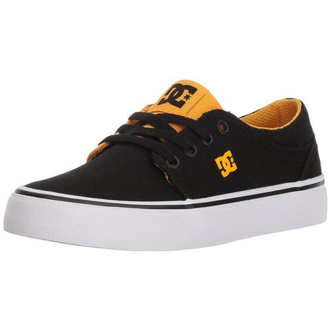Kids DC Girls Trase Tx Fabric Low Top Lace Up Skateboarding Shoes
