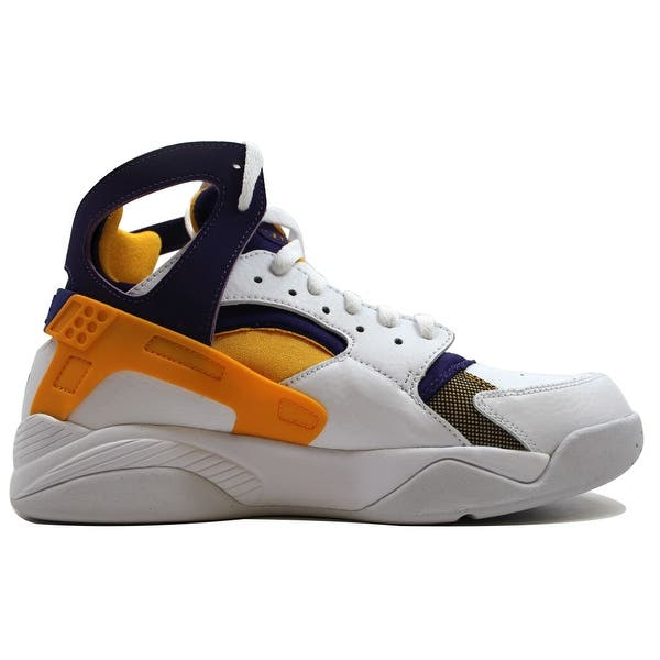half off 435a8 a7c0c Shop Nike Men's Air Flight Huarache White/University Gold ...