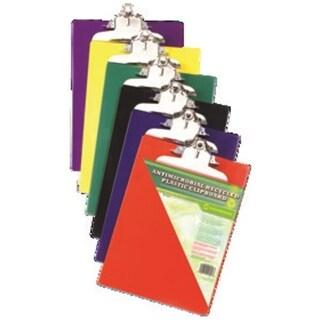 Recycled Plastic Clipboard High Capacity Clip 8.5x11 Asst