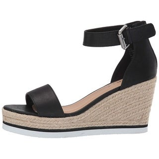 Link to ESPRIT Womens Rebekah Leather Peep Toe Casual Ankle Strap Sandals Similar Items in Women's Shoes