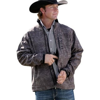 Cinch Western Jacket Mens Holster Concealed Pockets Brown