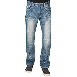 Parish Nation Young Men's Medium Stonewash Fashion Jeans