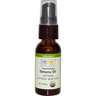 Aura Cacia Organics Skin Care Oil Tamanu 1-ounce