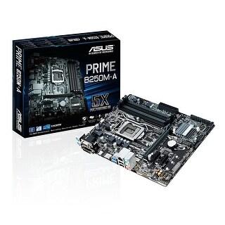Asus Prime B250m-A Lga1151 Ddr4 Hdmi Dvi Vga M.2 B250 Micro-Atx Motherboard