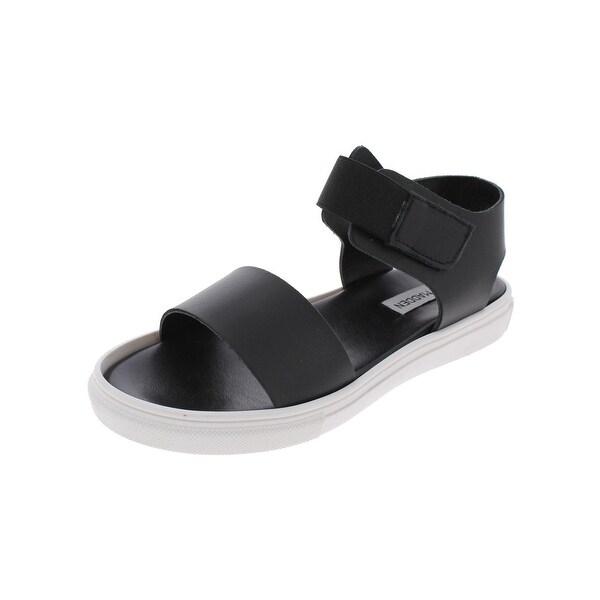 Steve Madden Womens Darra Flat Sandals Open Toe Slingback