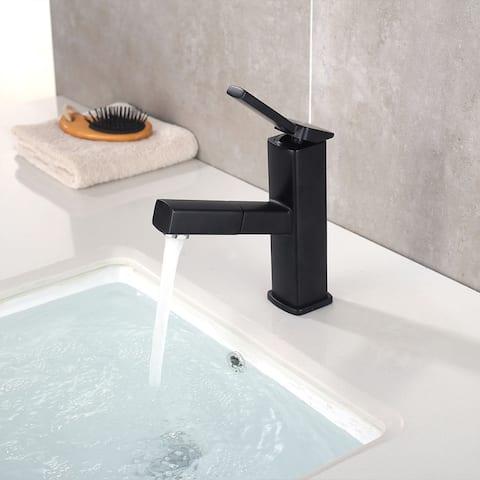 Basin Faucet Bathroom Pull Out Faucet Bifunctional Faucet Sink Tap