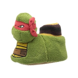 Nickelodeon Boys Ninja Turtle Novelty Slippers Polyester