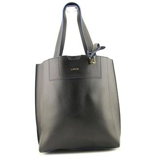 Lodis Zoey Leather Shoulder Bag - Black