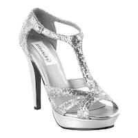 Dyeables Women's Samara Silver Glitter