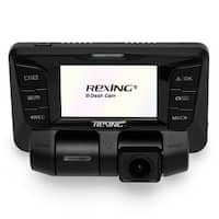 Rexing E3 Uber Dash Cam Dual Channel 1080P+1080P Full Hd 170+170 Degrees Wide Angle Wdr Wifi 2160P Dashboard Camera