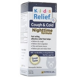 Homeolab USA Kids Relief Cough & Cold Nighttime Formula 8.5 oz