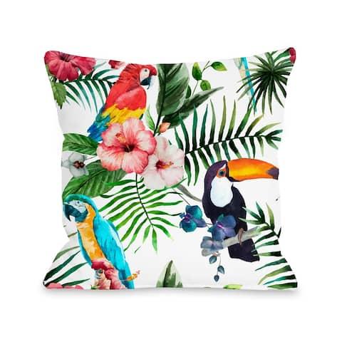 Tropical Toucan - Throw Pillow