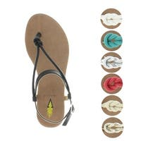 Volatile Laury Women's Casual Flat Thong Sandals Boho