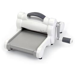 White W/Gray - Sizzix Big Shot Machine