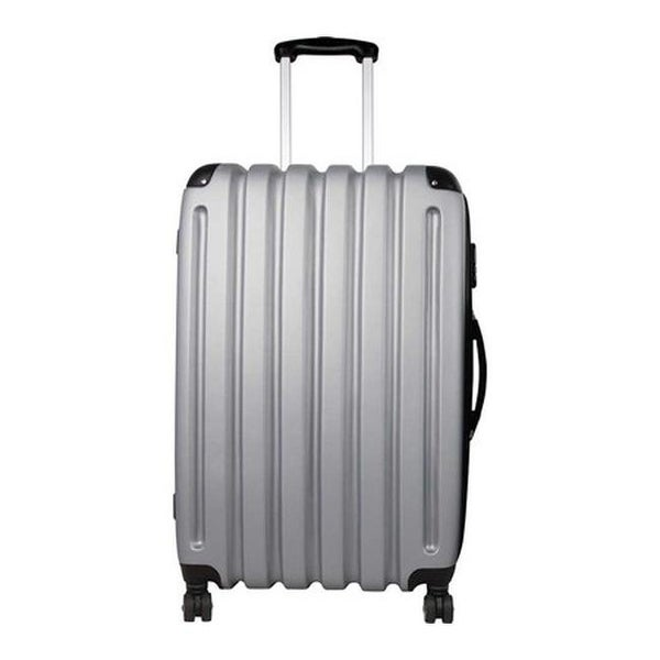 """Preferred Nation P9128 27"""" Expandable Hardside Luggage Silver Grey - us one size (size none)"""