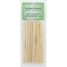 "HIC 4413 Bamboo Skewers, 8"", Set of 100"