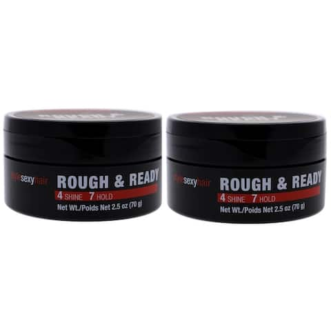 Sexy Hair Rough & Ready Dimension With Hold 2.5 Ounce (Pack of 2)