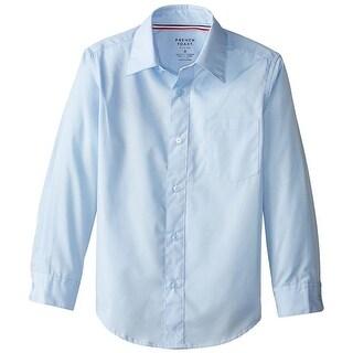 French Toast Boys 2T-4T Long Sleeve Dress Shirt